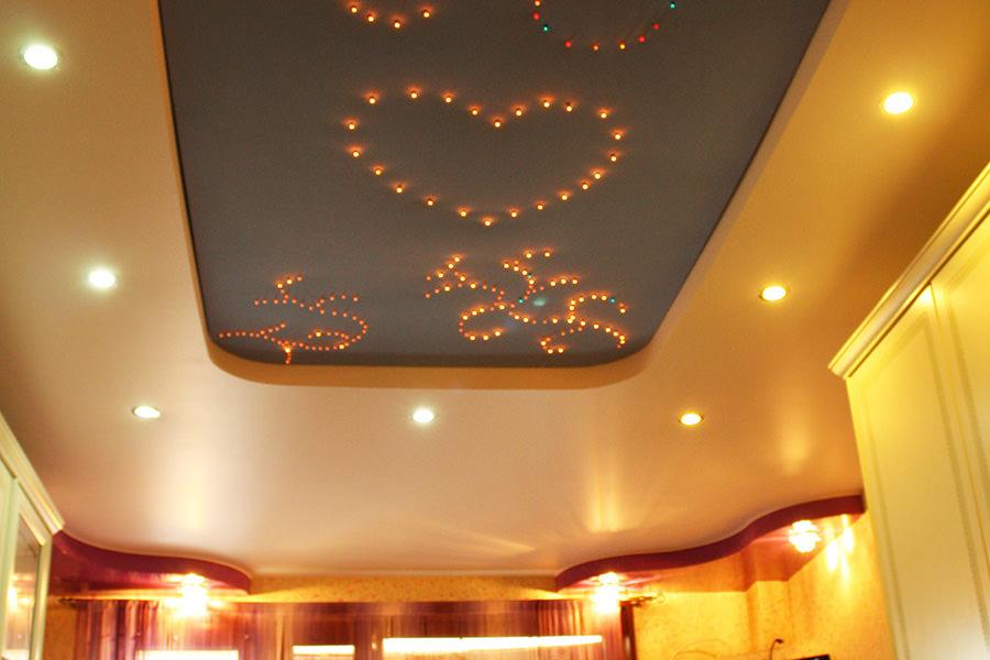 spanndecken beleuchtung badezimmer spanndecke mit. Black Bedroom Furniture Sets. Home Design Ideas